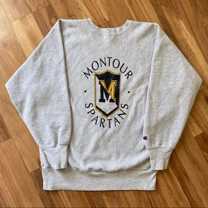 🔥Vintage 90s Champion Reverse Weave Sweatshirt XL